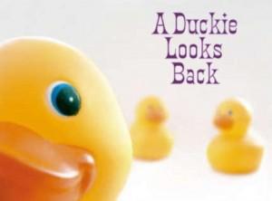 duckie looks back